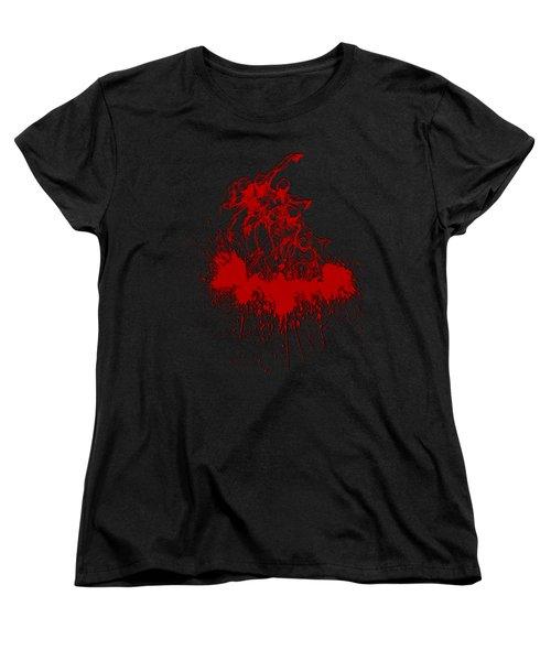 Body In Space Women's T-Shirt (Standard Cut)