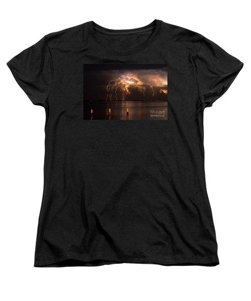 Boiling Energy Women's T-Shirt (Standard Cut) by Quinn Sedam