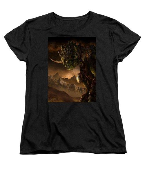 Bolg The Goblin King Women's T-Shirt (Standard Cut) by Curtiss Shaffer