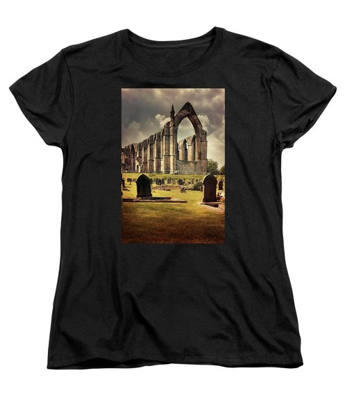 Bolton Abbey In The Uk Women's T-Shirt (Standard Cut) by Jaroslaw Blaminsky