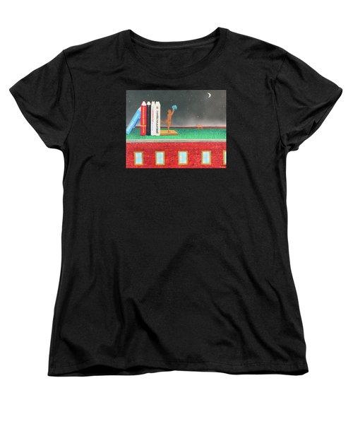 Books Of Knowledge Women's T-Shirt (Standard Cut)