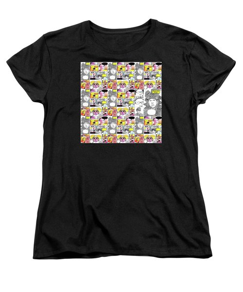 Boom Times 4 Women's T-Shirt (Standard Cut) by Tobeimean Peter