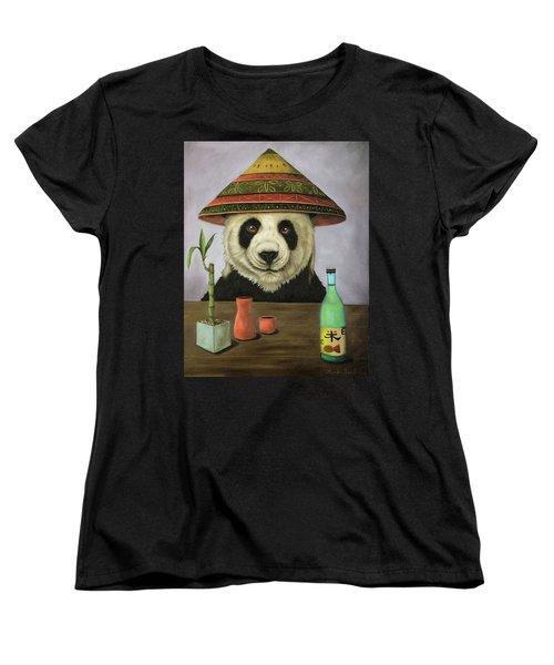 Boozer 4 Women's T-Shirt (Standard Cut) by Leah Saulnier The Painting Maniac