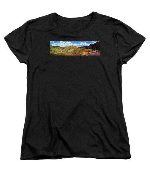 Women's T-Shirt (Standard Cut) featuring the photograph Bracchina Gorge Flinders Ranges South Australia by Bill Robinson