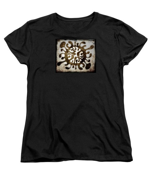 Women's T-Shirt (Standard Cut) featuring the drawing Brain Illustration by Lenny Carter