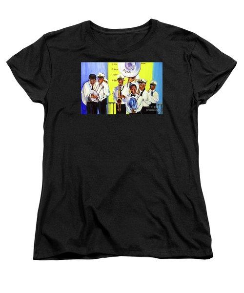 Brass Of  Class New Orleans Women's T-Shirt (Standard Cut) by Ecinja Art Works