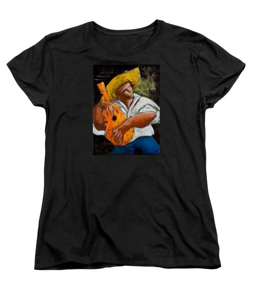 Bravado Alla Prima Women's T-Shirt (Standard Cut) by Oscar Ortiz