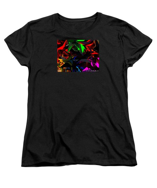 Women's T-Shirt (Standard Cut) featuring the painting Brave by Holley Jacobs