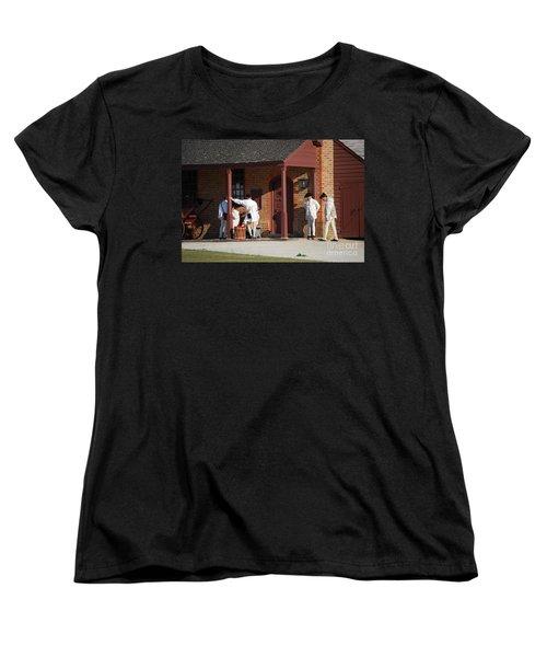 Break Time Women's T-Shirt (Standard Cut) by Eric Liller