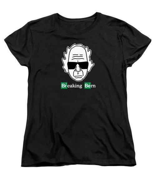 Breaking Bern Women's T-Shirt (Standard Cut) by Sean Corcoran
