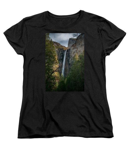 Bridal Veil Falls Women's T-Shirt (Standard Cut) by Ralph Vazquez