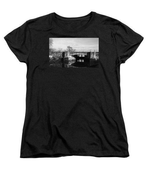 Bridge To Heaven Women's T-Shirt (Standard Cut) by Jose Rojas