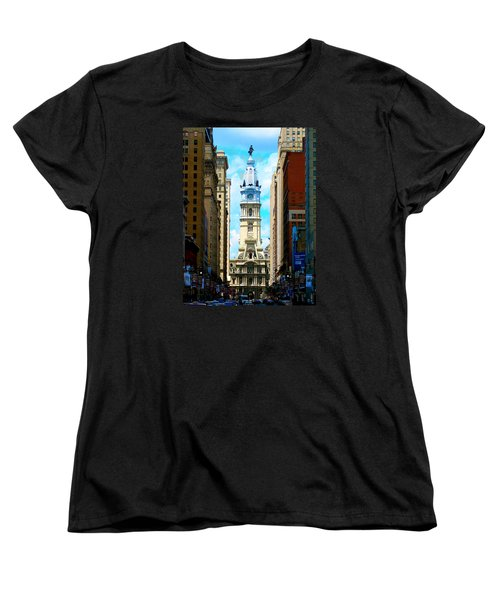 Philadelphia Women's T-Shirt (Standard Cut) by Christopher Woods