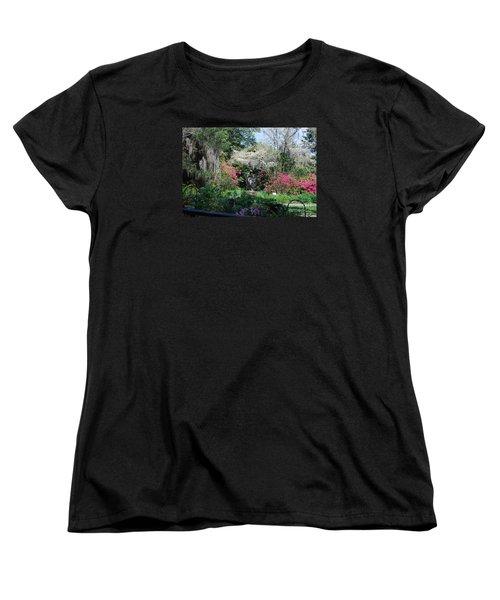 Brookgreen Gardens 2 Women's T-Shirt (Standard Cut) by Gordon Mooneyhan
