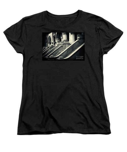 Brooklyn Park Slope Stoops Women's T-Shirt (Standard Cut) by Sabine Jacobs