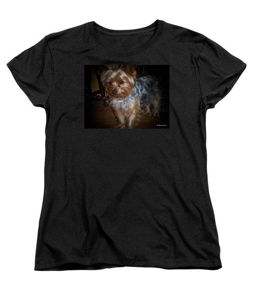 Buddy Women's T-Shirt (Standard Cut) by Betty Northcutt