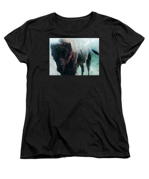 Buffalo American Bison Women's T-Shirt (Standard Cut)