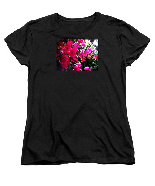 Women's T-Shirt (Standard Cut) featuring the photograph Bugambilia by Vanessa Palomino