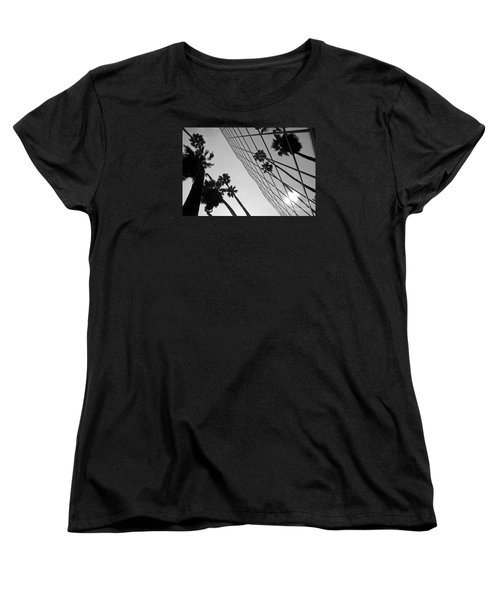 Building On Hollywood 3 Women's T-Shirt (Standard Cut) by Micah May
