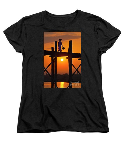 Burma_d807 Women's T-Shirt (Standard Cut) by Craig Lovell