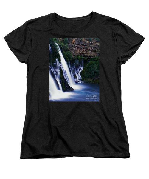 Women's T-Shirt (Standard Cut) featuring the photograph Burney Blues by Peter Piatt