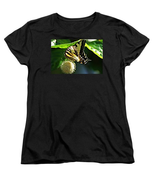 Butterfly 4 Women's T-Shirt (Standard Cut) by Joe Faherty