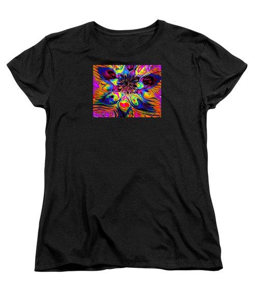 Butterfly Abstract Women's T-Shirt (Standard Cut) by Maciek Froncisz