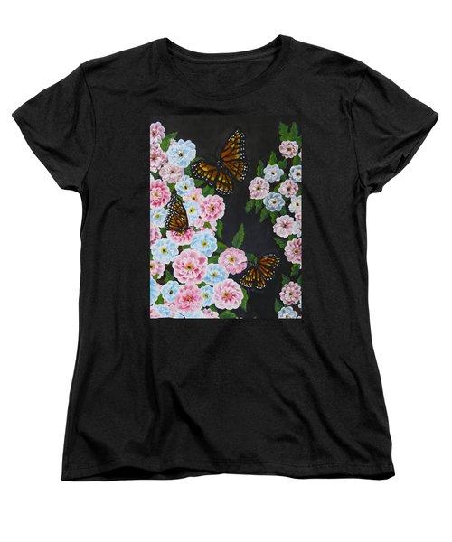 Butterfly Beauty Women's T-Shirt (Standard Cut) by Teresa Wing