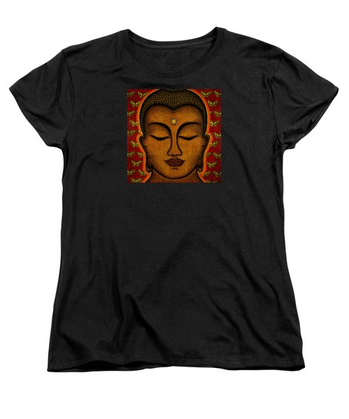 Women's T-Shirt (Standard Cut) featuring the mixed media Butterfly Invocation by Gloria Rothrock