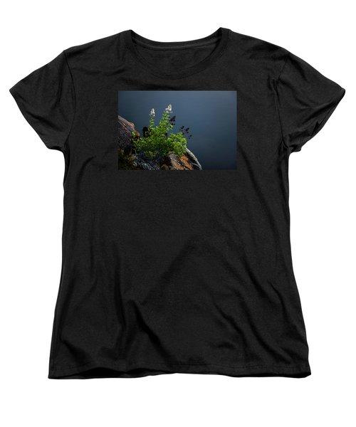 By The Edge Women's T-Shirt (Standard Cut) by Peter Scott