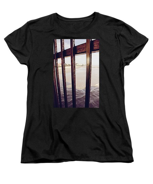 Women's T-Shirt (Standard Cut) featuring the photograph By The Sea by Trish Mistric