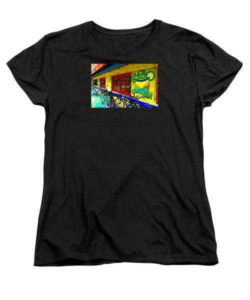 Cabo Cantina - Balboa Women's T-Shirt (Standard Cut) by Jim Carrell