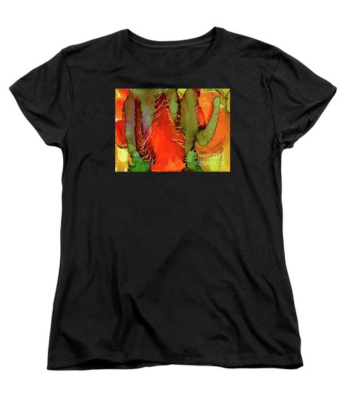 Cactus Women's T-Shirt (Standard Cut) by Yolanda Koh
