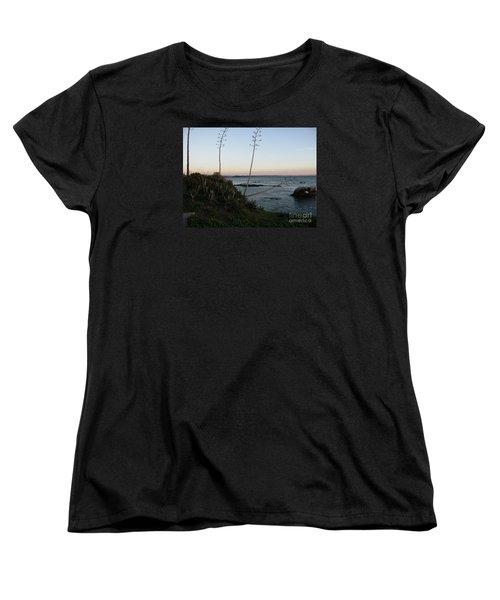 California At Twilight Women's T-Shirt (Standard Cut) by Mini Arora