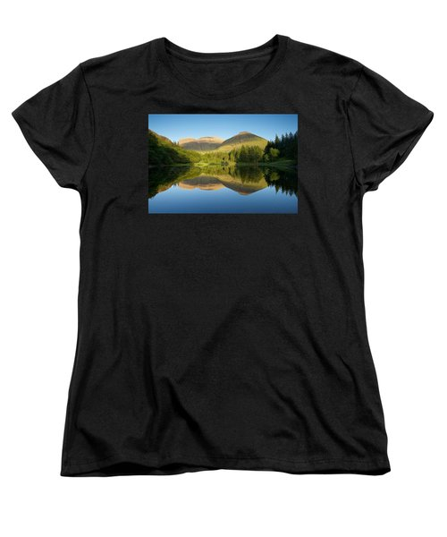 Californian Summer In Glencoe Women's T-Shirt (Standard Cut) by Stephen Taylor