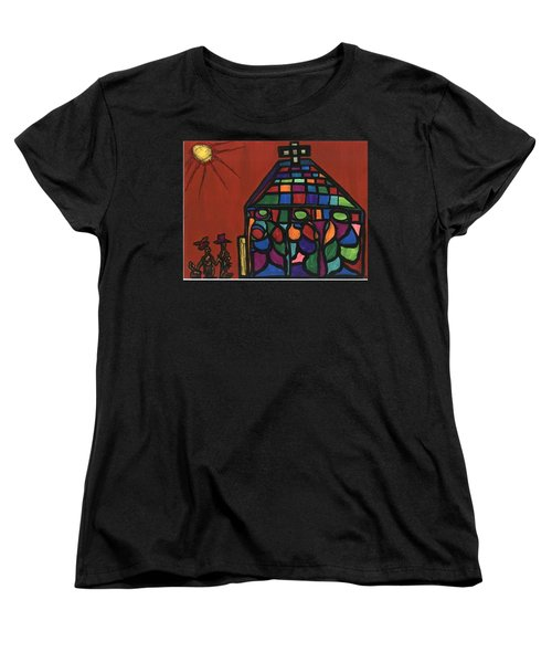 Call To Worship Women's T-Shirt (Standard Cut) by Darrell Black