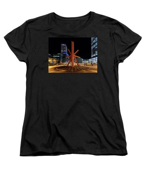 Calling After Sundown Women's T-Shirt (Standard Cut) by Randy Scherkenbach