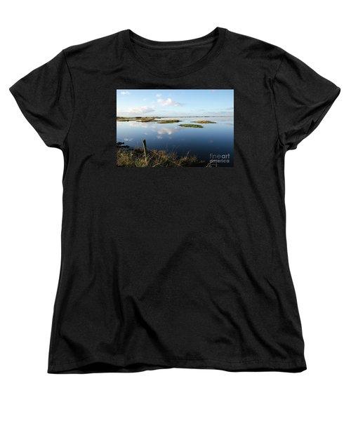 Calm Wetland Women's T-Shirt (Standard Cut) by Kennerth and Birgitta Kullman