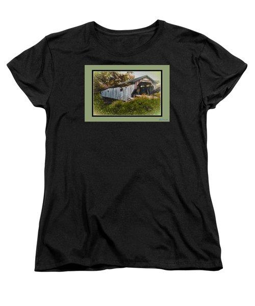 Cambridge Jct. Bridge Women's T-Shirt (Standard Cut) by John Selmer Sr