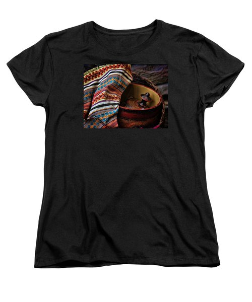 Women's T-Shirt (Standard Cut) featuring the photograph Camelback 8851 by Sylvia Thornton