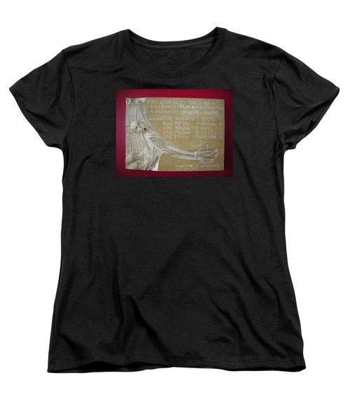 Women's T-Shirt (Standard Cut) featuring the photograph Camp Nou 1982 by Juergen Weiss