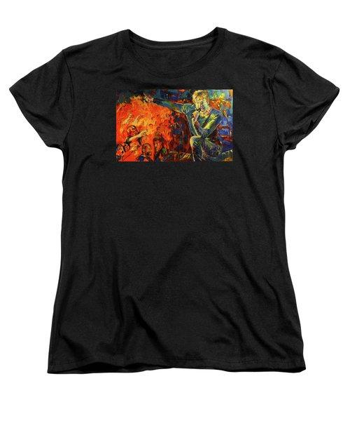 Campino Women's T-Shirt (Standard Cut) by Koro Arandia