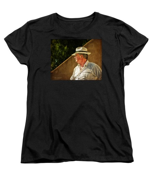 Canadian Artist In Provence Women's T-Shirt (Standard Cut) by CR  Courson