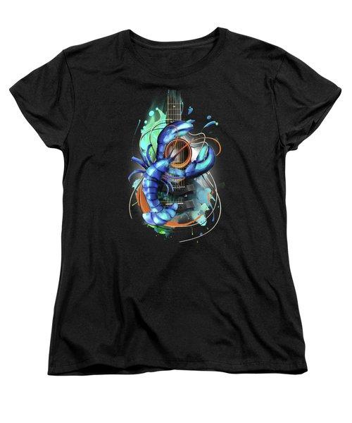Cancer Women's T-Shirt (Standard Cut) by Melanie D