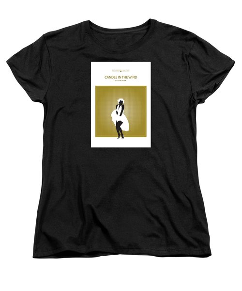 Candle In The Wind -- Elton John Women's T-Shirt (Standard Cut) by David Davies