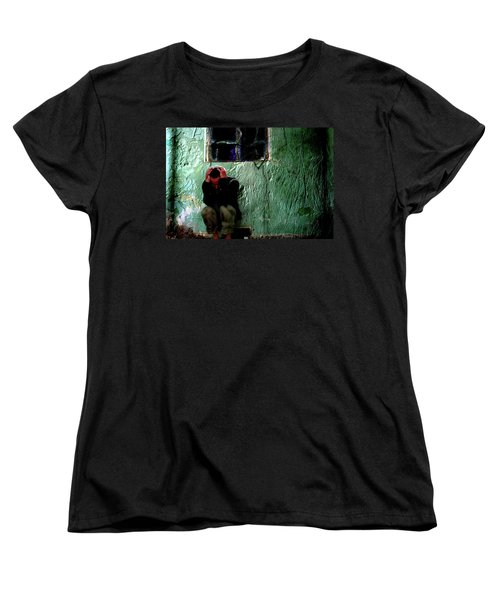 Women's T-Shirt (Standard Cut) featuring the photograph Can't Escape The Madness by Gray  Artus