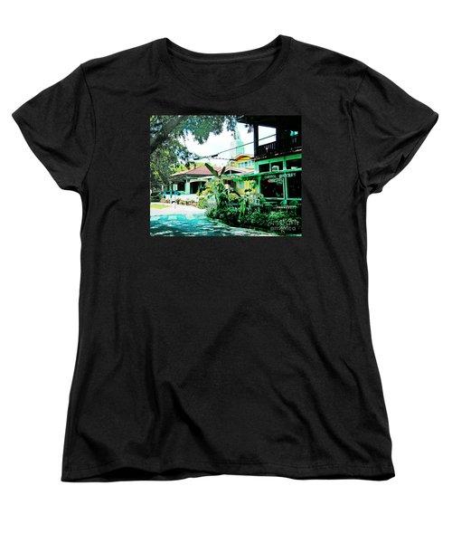 Capitol Grocery Spanish Town Baton Rouge Women's T-Shirt (Standard Cut) by Lizi Beard-Ward