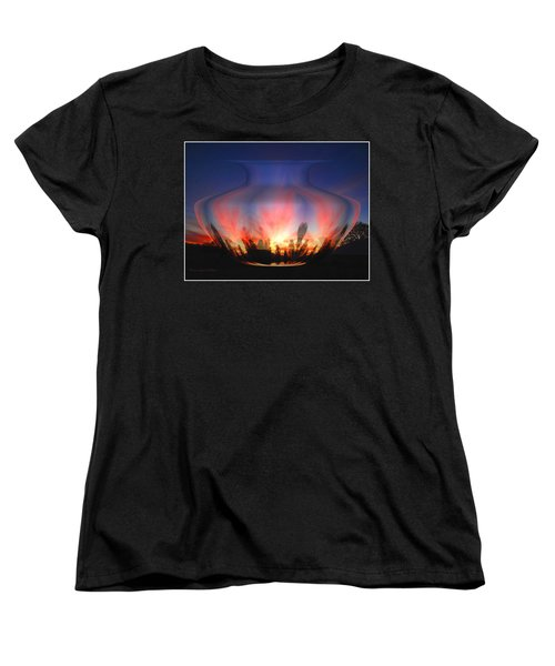 Women's T-Shirt (Standard Cut) featuring the photograph Capricorn Morning by Joyce Dickens