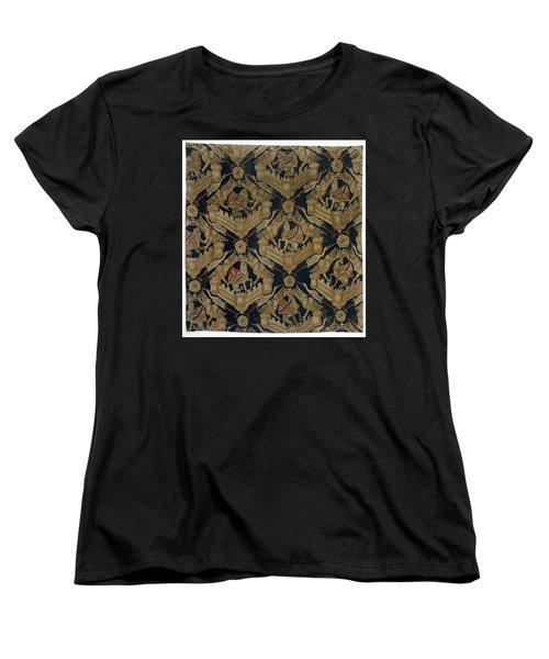 Carpet With The Arms Of Rogier De Beaufort Women's T-Shirt (Standard Cut) by R Muirhead Art