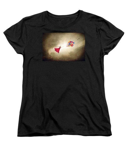 Carried Away Women's T-Shirt (Standard Cut) by Greg Collins